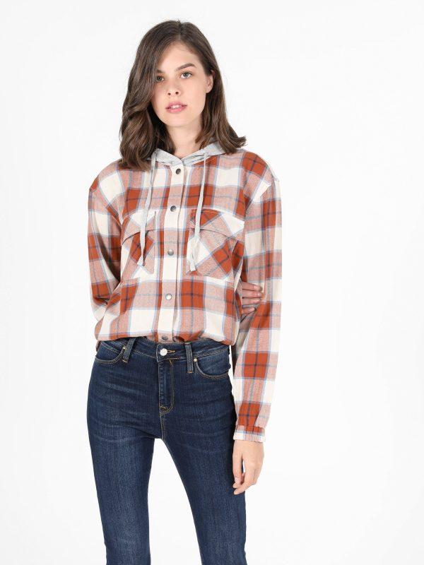 Kadın Uzun Kol Gömlek