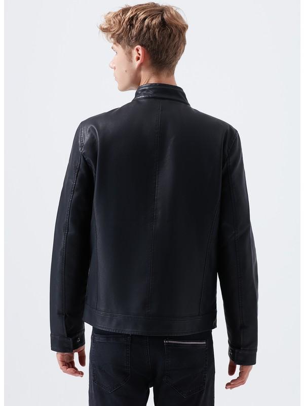 Siyah Biker Ceket 2