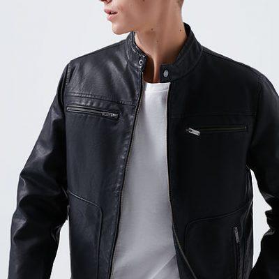Siyah Biker Ceket