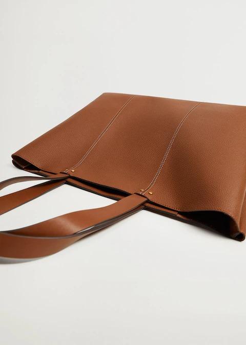 Dikişli Shopper Çanta 3