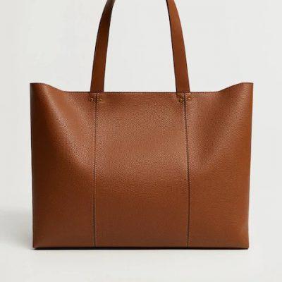 Dikişli Shopper Çanta