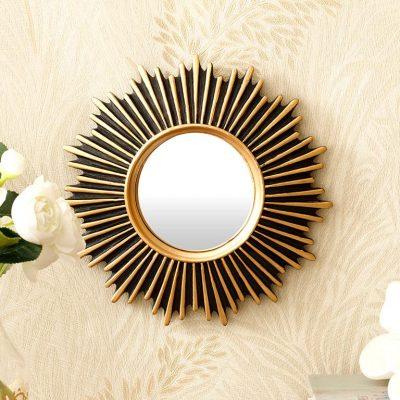 Twist Polyresin Ayna 20X1,8 Cm Altın
